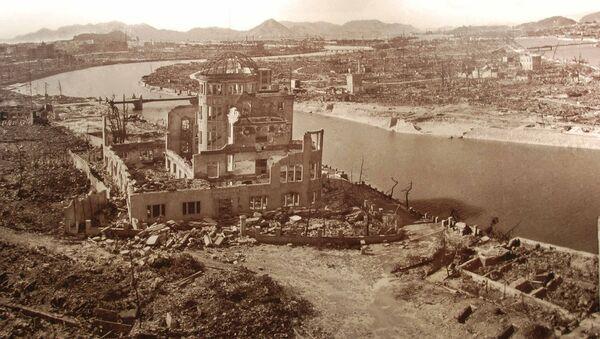 Hiroshima-after-the-bomb - Sputnik International
