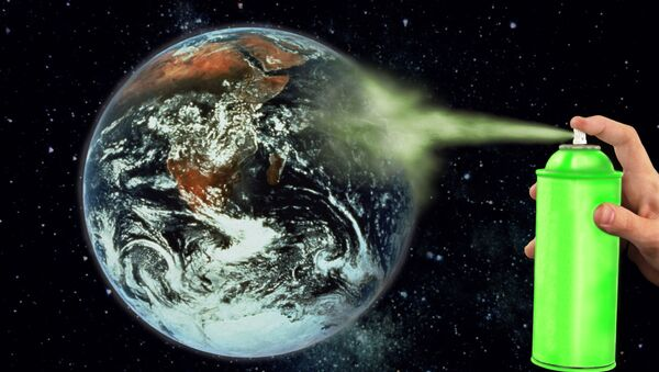 Ozone-friendly chemicals - Sputnik International