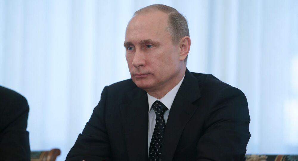 Vladimir Putin meets with