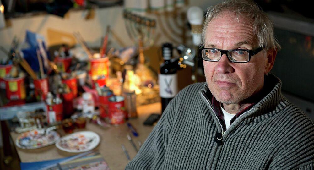 Controversial Swedish artist Lars Vilks is seen in Nyhamnslage January 3, 2012