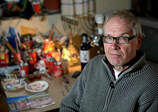 Controversial Swedish artist Lars Vilks is seen in Nyhamnslage January 3, 2012