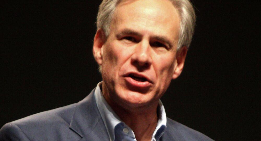 Gregg Abbott, the governor of Texas