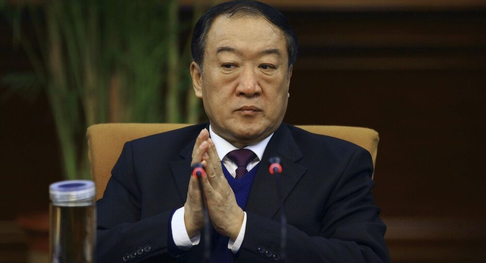 Su Rong, the former vice-chairman of China's parliamentary advisory body
