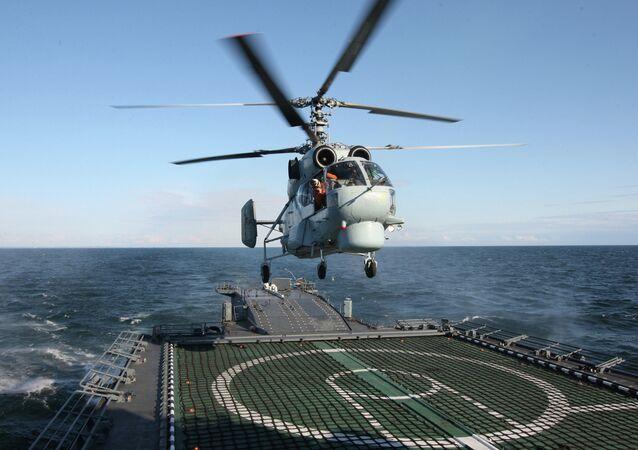 Ka-27PL antisubmarine helicopter