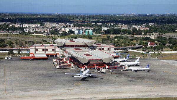 Jose Marti International airport in Havana, Cuba - Sputnik International
