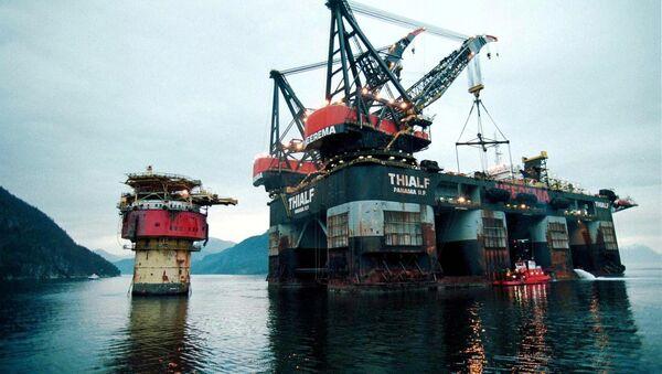 Brent Spar oil platform - Sputnik International