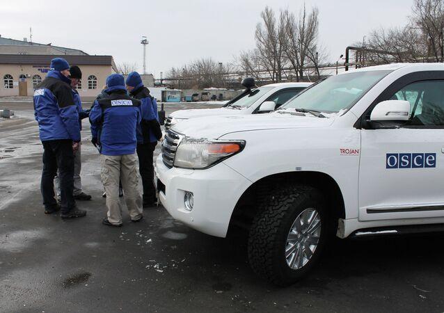OSCE observers