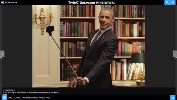 President Barack Obama used a selfie stick in a video promoting health insurance. - Sputnik International