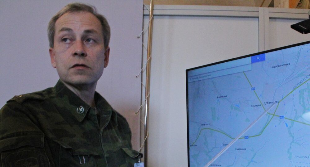 Deputy Commander of DNR self-defense forces Eduard Basurin