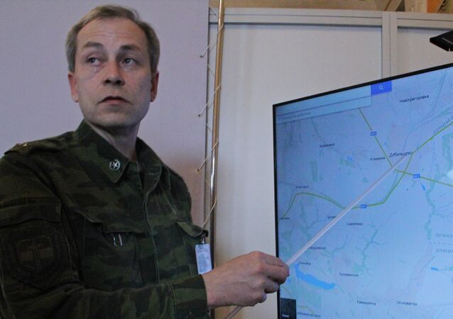 Deputy Commander of DNR self-defense forces Eduard Basurin