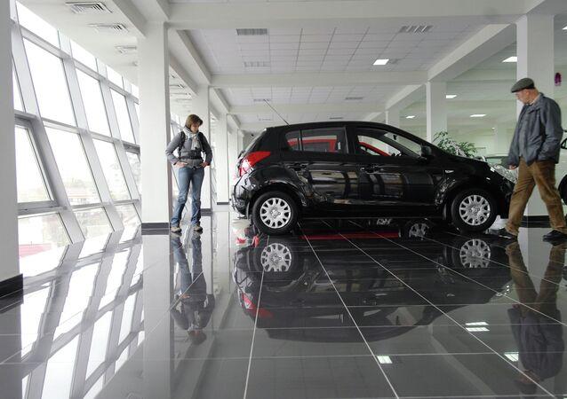 Laura car dealership in Sochi