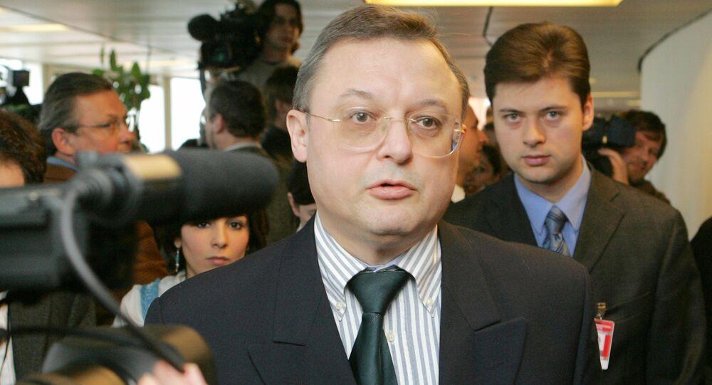 Russia's ambassador to the International Atomic Energy Agency (IAEA) Grigory Berdennikov