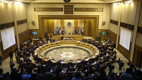 An emergency meeting is held by foreign ministers of the Arab League in Cairo, Egypt, Jan. 15, 2015 - Sputnik International