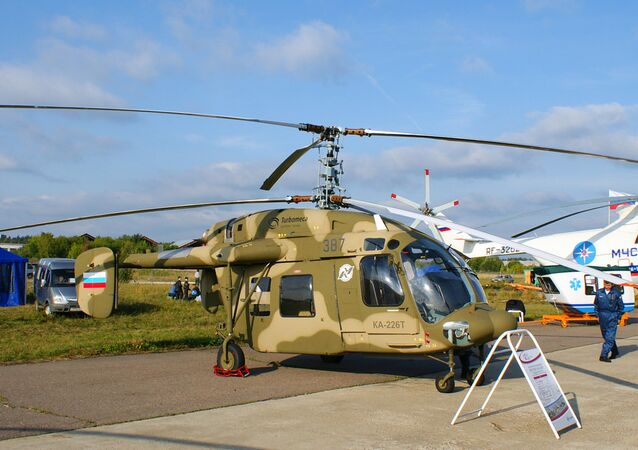 Moscow and New Delhi are discussing the possibility of creating a joint venture to manufacture the Ka-226T light multirole helicopter in India.