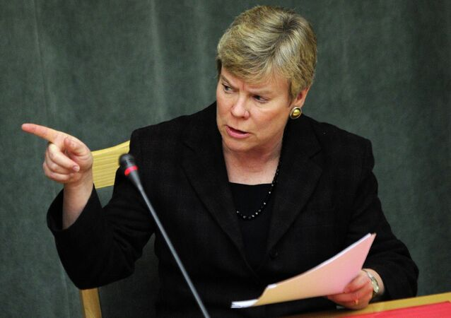 US Assistant Secretary Secretary of State and New START negotiator Rose Gottemoeller