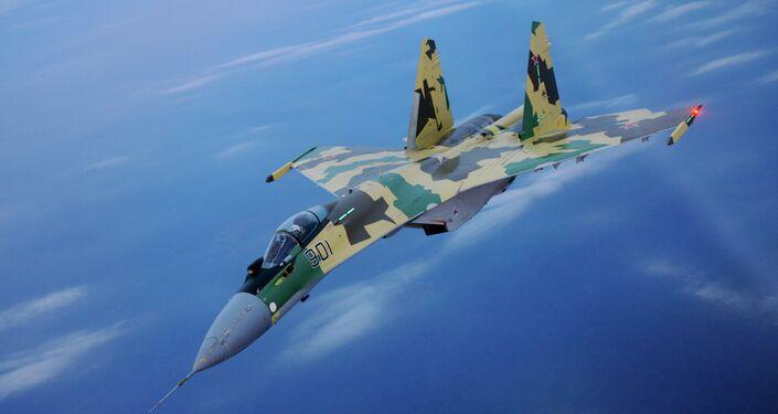 Sukhoi Su-35 multirole fighter