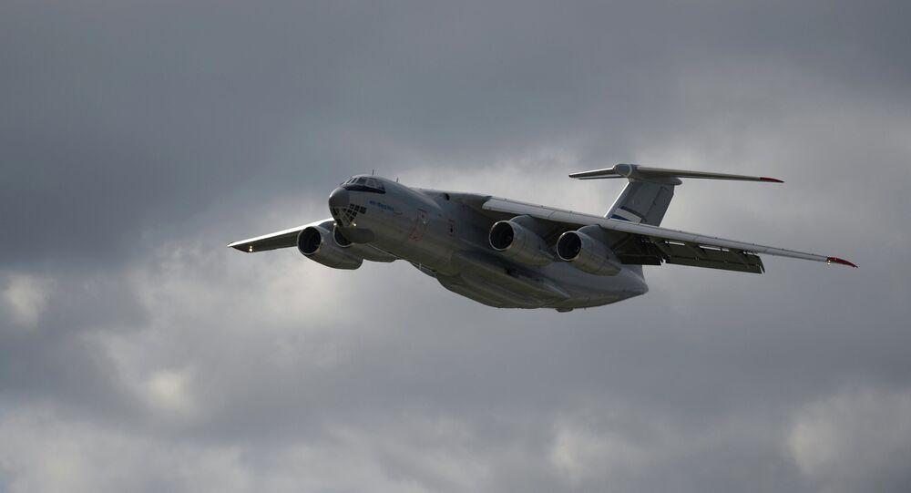 IL-76MD-90A aircraft