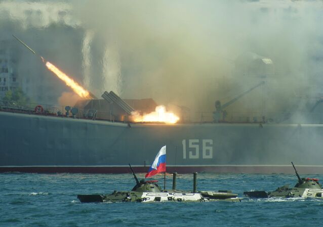 Warships from Russia's Black Sea Fleet have begun exercises with its anti-missile defense systems