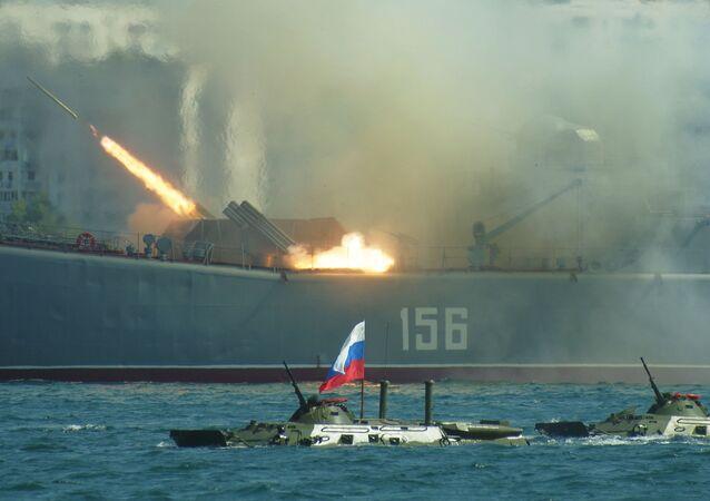 Sevastopol celebrates Russian Navy Day