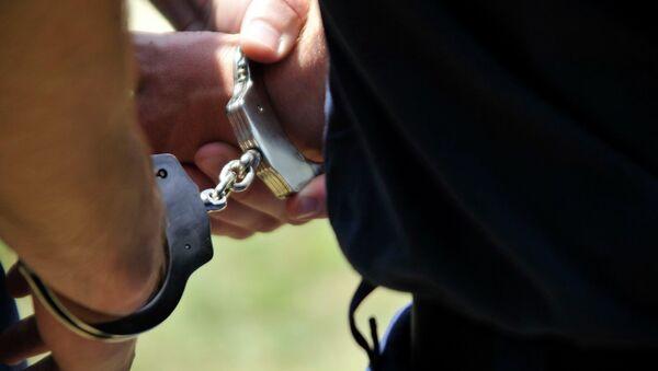 Police Handcuffs - Sputnik International
