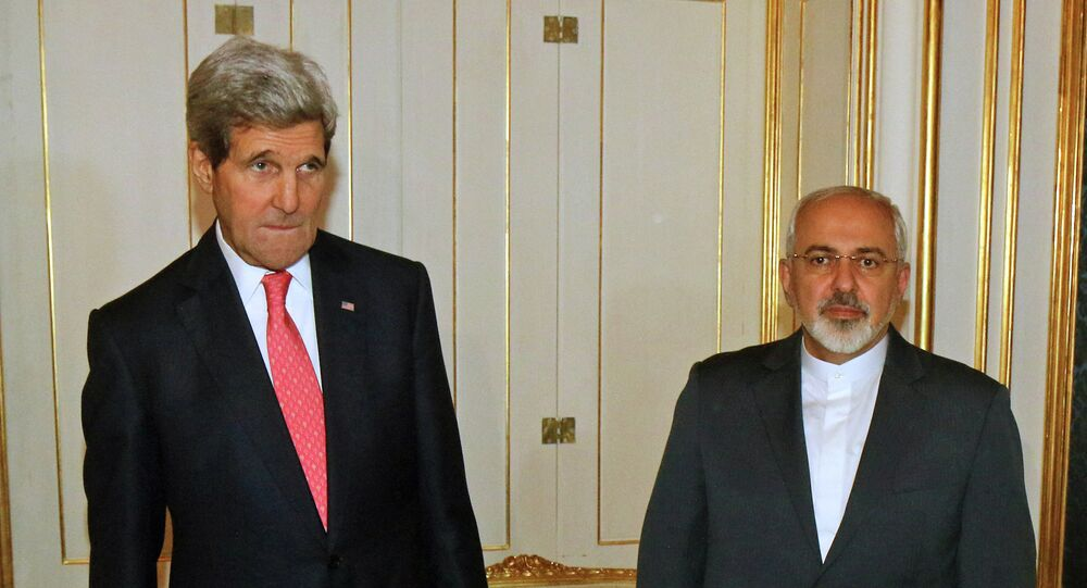 U.S. Secretary of State John Kerry and Iranian Foreign Minister Mohammad Javad Zarif in November, 2014.