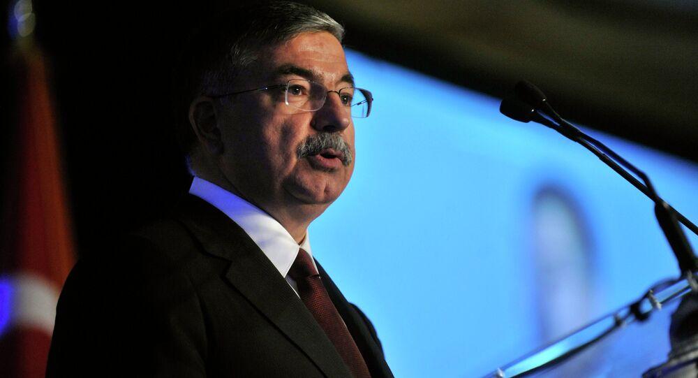 Defense Minister Ismet Yilmaz
