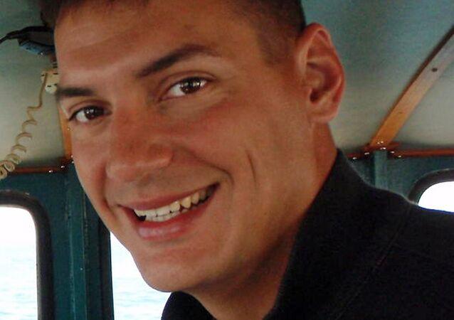 American freelance journalist Austin Tice. (File)
