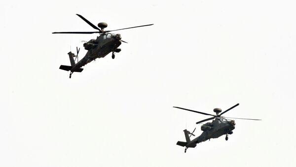 Two AH-64E Apache - Sputnik International