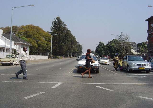 Harare Street, Zimbabwe