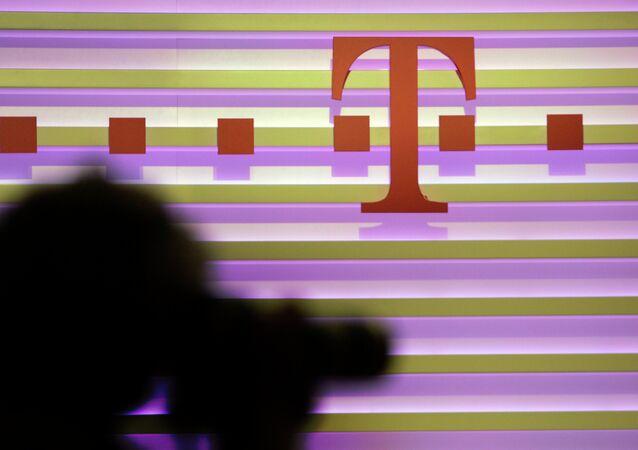 Deutschen Telekom das Logo
