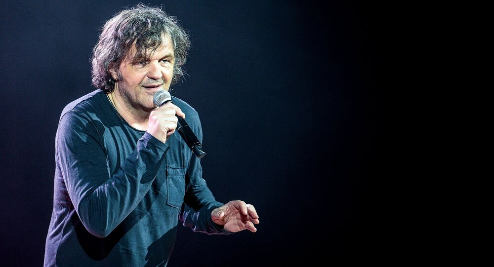 Yugoslav and Serbian film director Emir Kusturica