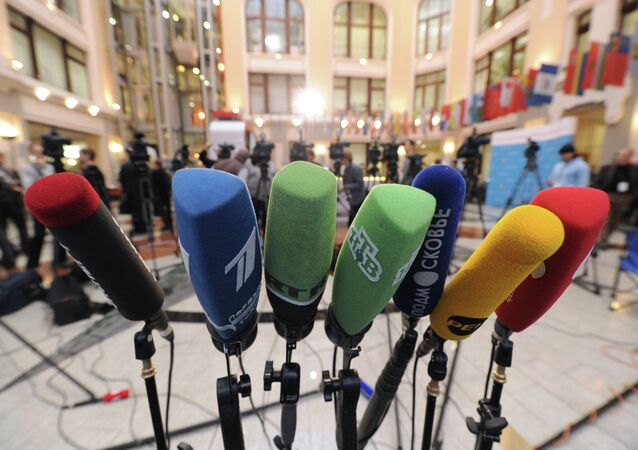 Kiev's move to deprive several Russian media outlets of accreditation in Ukrainian governmental institutions is an act of information war