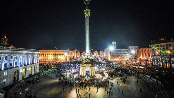 Maidan protests anniversary - Sputnik International