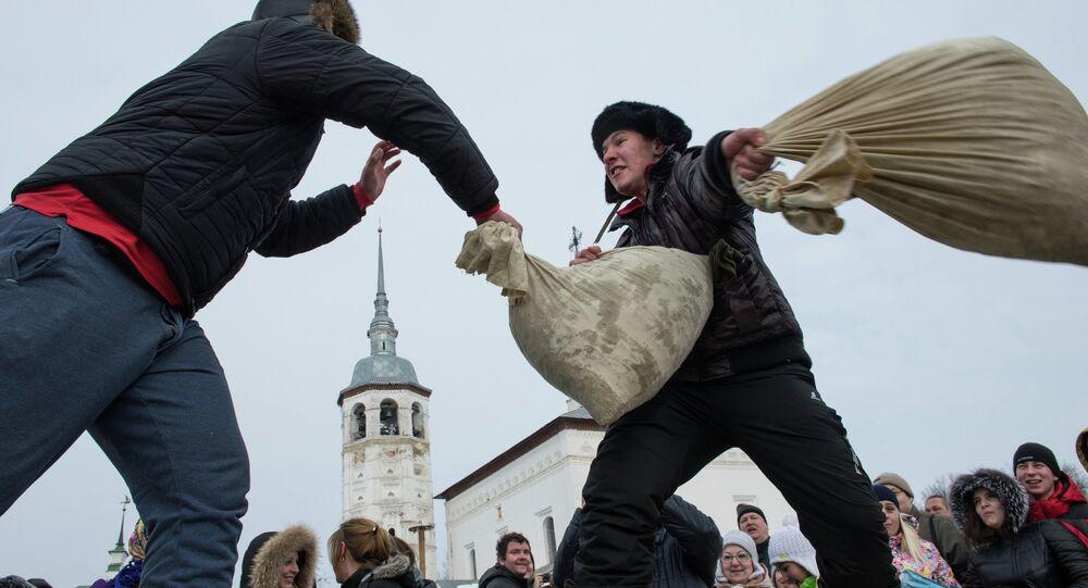Maslenitsa festival in Suzdal