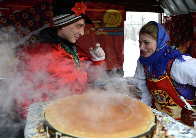 Celebrations of Maslenitsa Pancake Week