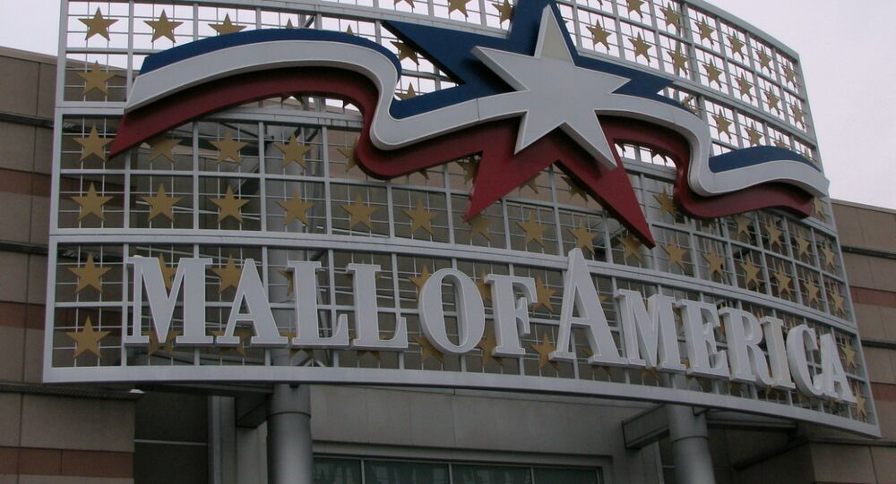 Mall of America Entrance Sign