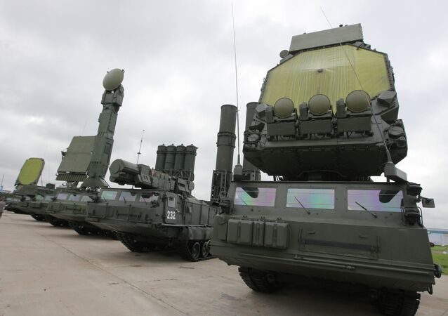 Antey-2500 anti-ballistic system