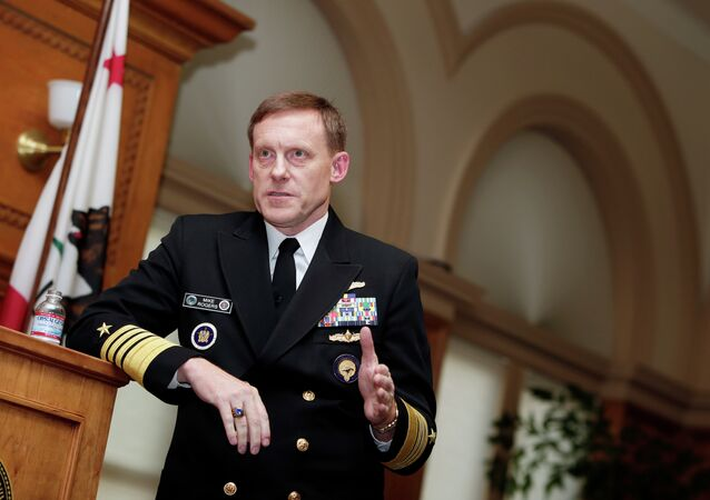 National Security Agency director Admiral Mike Rogers