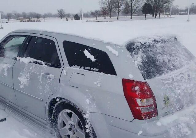 Turn It Louder! Busting Basses De-Snow a Car