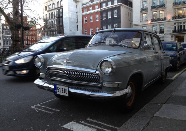 Volga (Russian Car)  Mayfair, London, England