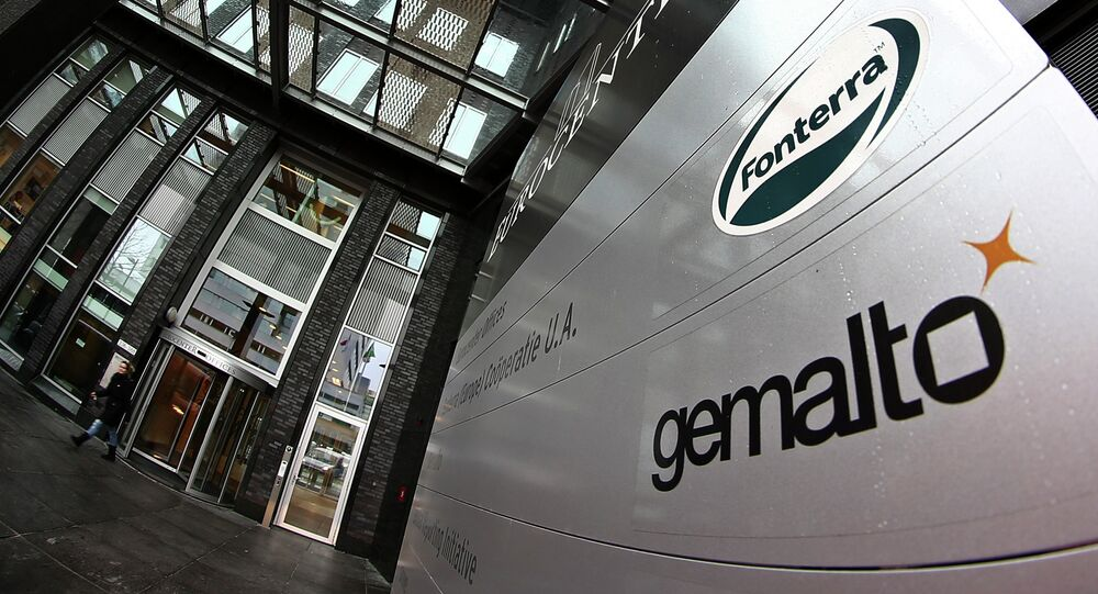 Exterior view of the building housing the head office of Gemalto, which produces subscriber identity modules, or SIM cards, in Amsterdam, Netherlands, Friday, Feb. 20, 2015