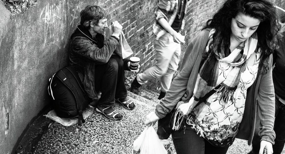 Another 3.6 million people, including 1.2 million children, will live in poverty in Britain by 2030, UK think tank the Fabian Society said