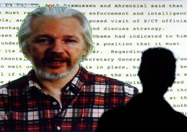 Founder of Wikileaks Julian Assange