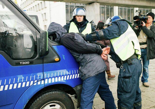 Copenhagen, Denmark, Police