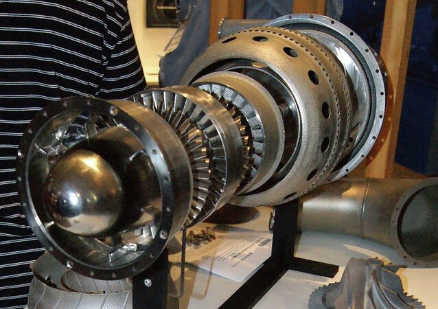 The world's first 3D-printed jet engine can be seen on display at the Avalon International Air Show southwest of Melbourne February 26, 2015