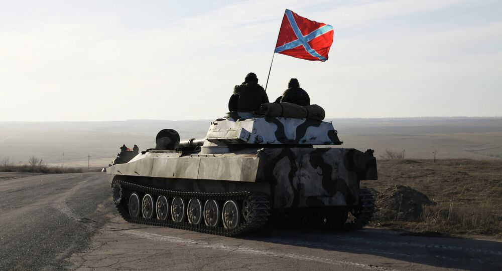 The self-proclaimed Donetsk and Lugansk people's republics in eastern Ukraine issued a joint statement Wednesday.