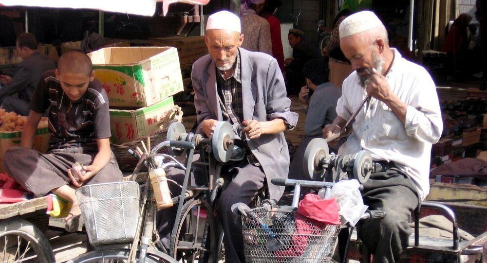 Khotan (Hotan / Hetian) is an oasis city in the Xinjiang Uygur Autonomous Region of the People's Republic of China. Sunday market
