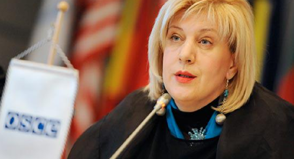 Organization for Security and Co-operation in Europe (OSCE) Representative on Freedom of the Media Dunja Mijatovic