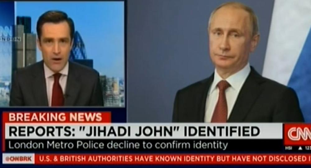 CNN: Putin is 'Jihadi John'