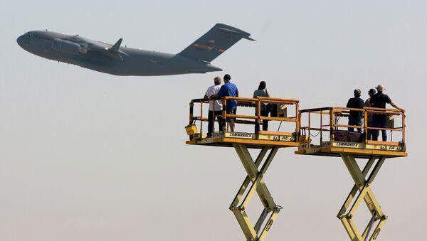 Boeing C-17 Globemaster III cargo jet - Sputnik International